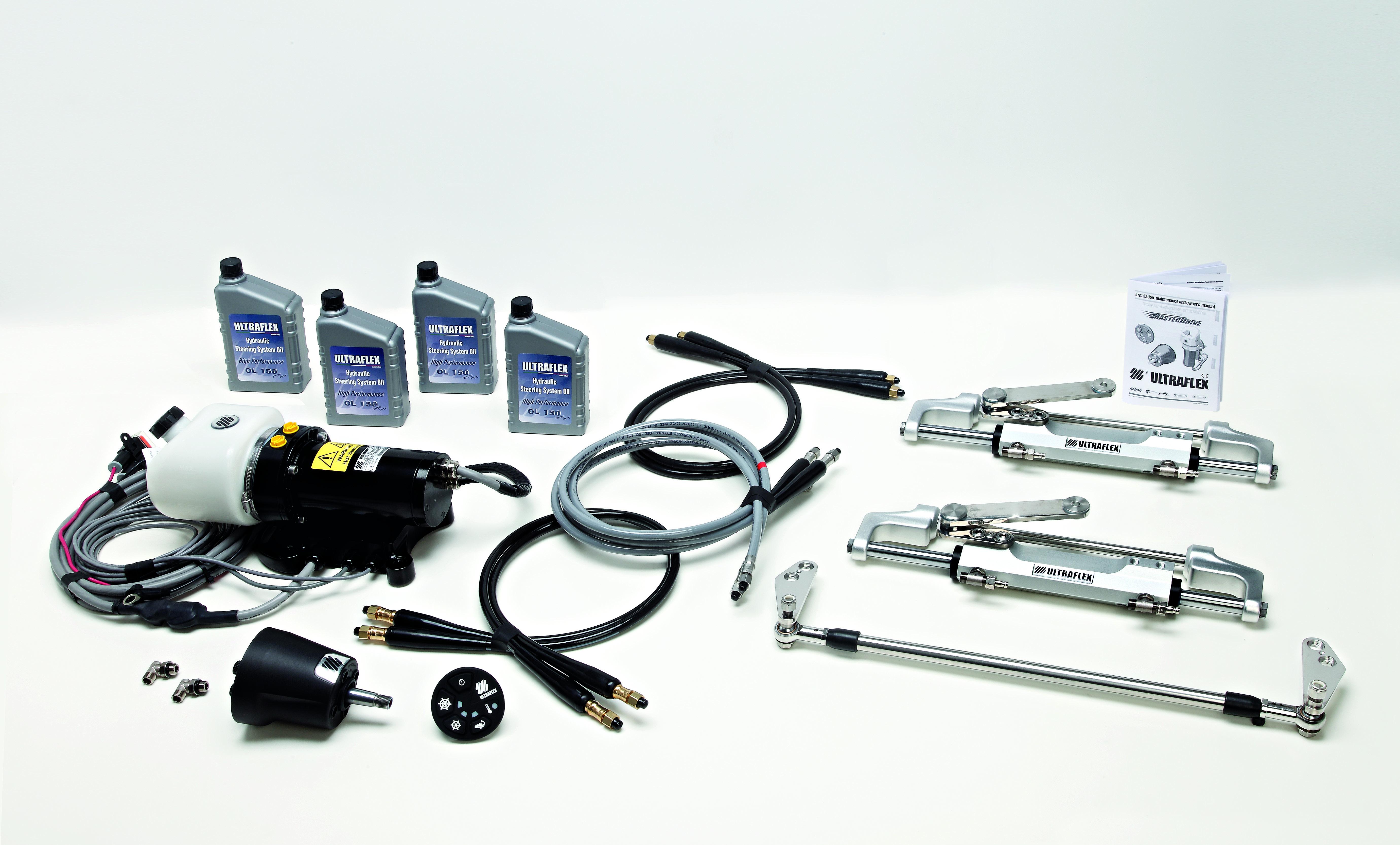 ULTRAFLEX - MasterDrive, nuova timoneria elettroidraulica